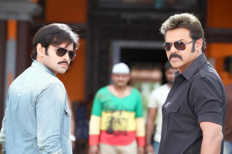 Venkatesh And Ram Hot Look In Telugu Movie Masala