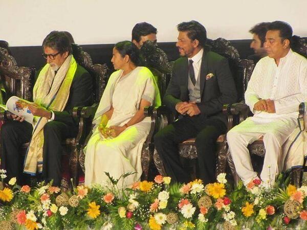 Amitabh,SRK And Kamal Haasan Inaugurate Kolkata Film Festival 2013