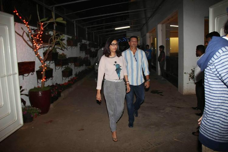 Celeba Spotted At Screening of Goliyon Ki Raas Leela Ram-Leela
