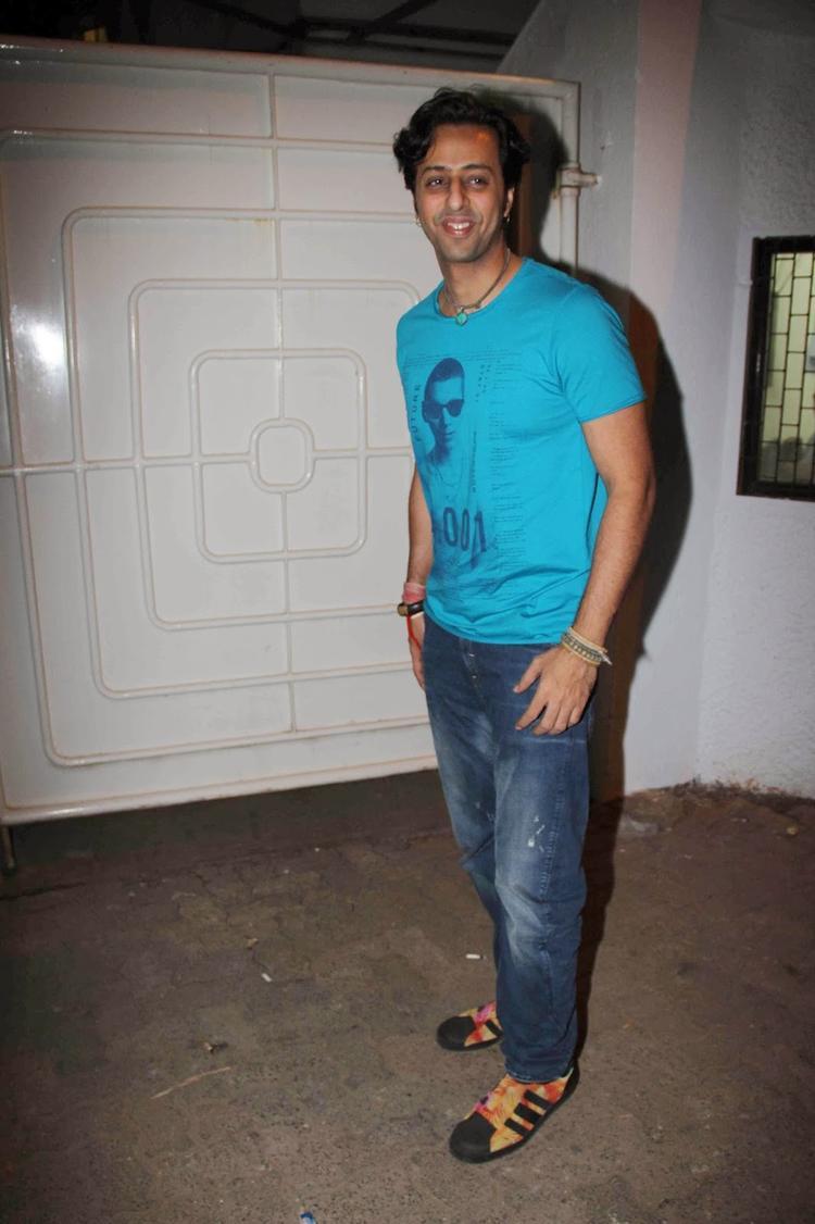 Salim Merchant Spotted At Light Box In Mumbai For Ram Leela Special Screening