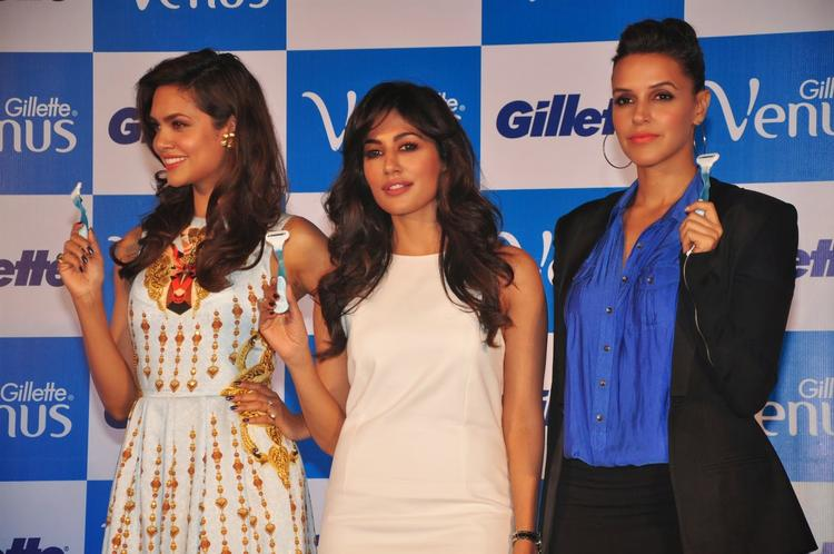Bollywood Hot Diva's Unveil Launch of Gillette Venus Razor, A Shaving System Designed Especially For Women