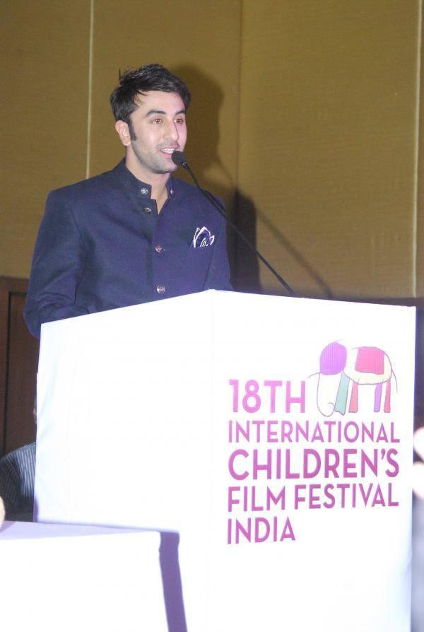 Ranbir Kapoor Addresses The Media At The Inauguration Of The 18th ICFFI