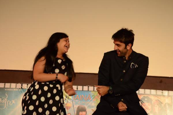 Youngest Comedian Saloni And Ranbir Cool Smiling During The Inauguration Ceremony Of ICFFI