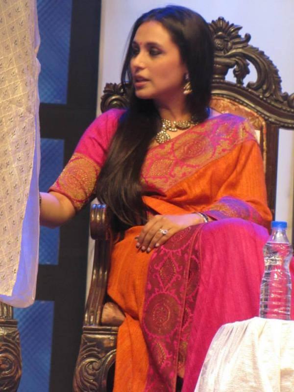 Glamour Rani Mukherjee Snapped At The Kolkata International Film Festival 2013