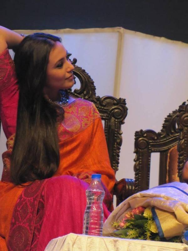 Sexy Rani Mukherjee During The Kolkata International Film Festival