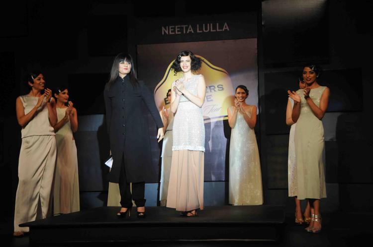 Kalki Walks With Designer Neeta Lulla At Blenders Pride Fashion Tour Day 2 Event