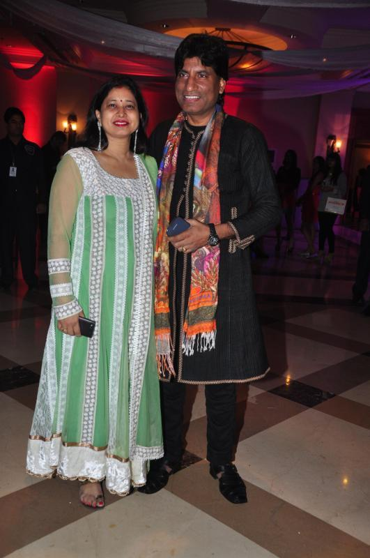 Raju Srivastav With Wife Shikha Srivastava Present At Rohit Verma Marigold Watches Fashion Show 2013