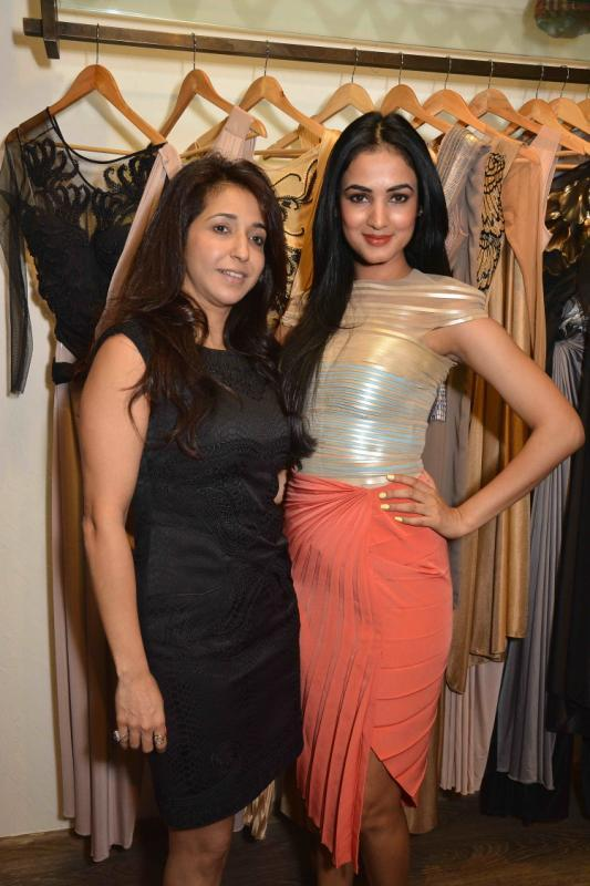 Krishika Lulla And Sonal Chauhan Graced At Amit Agarwal Collection Preview Event