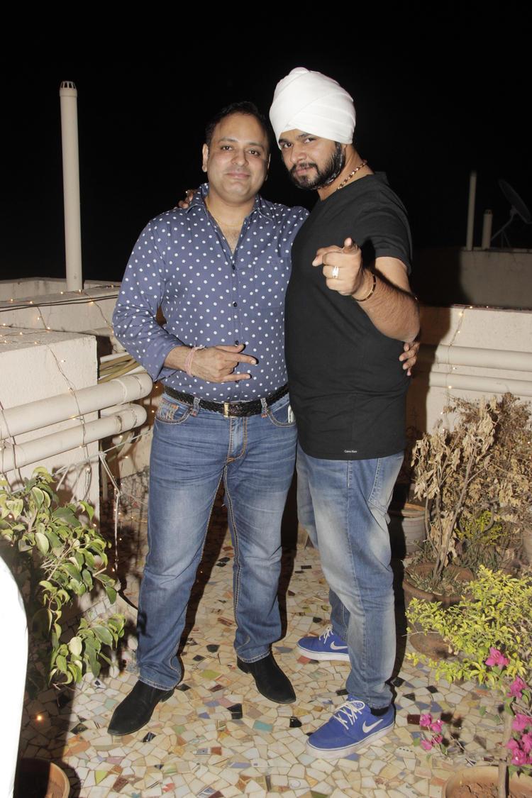 Prashant Sharma And Ramji Gulati Attend The Gurpreet Kaur Chadha Birthday Bash