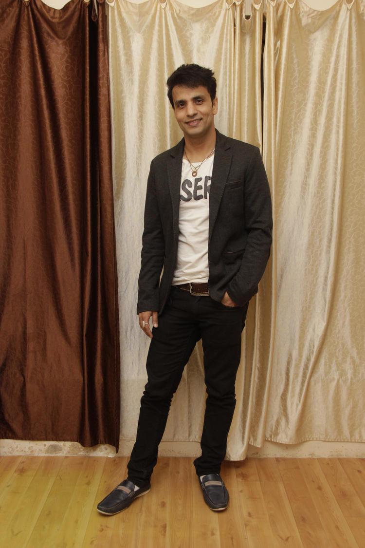 Rajeev Thakur Handsome Look During The Birthday Bash Of Gurpreet Kaur Chadha