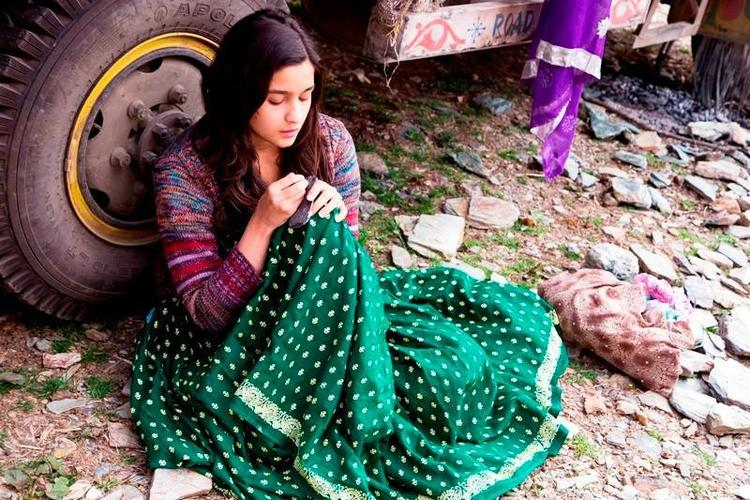 Sizzling Bollywood Queen Alia Bhatt A Still From The Movie Highway