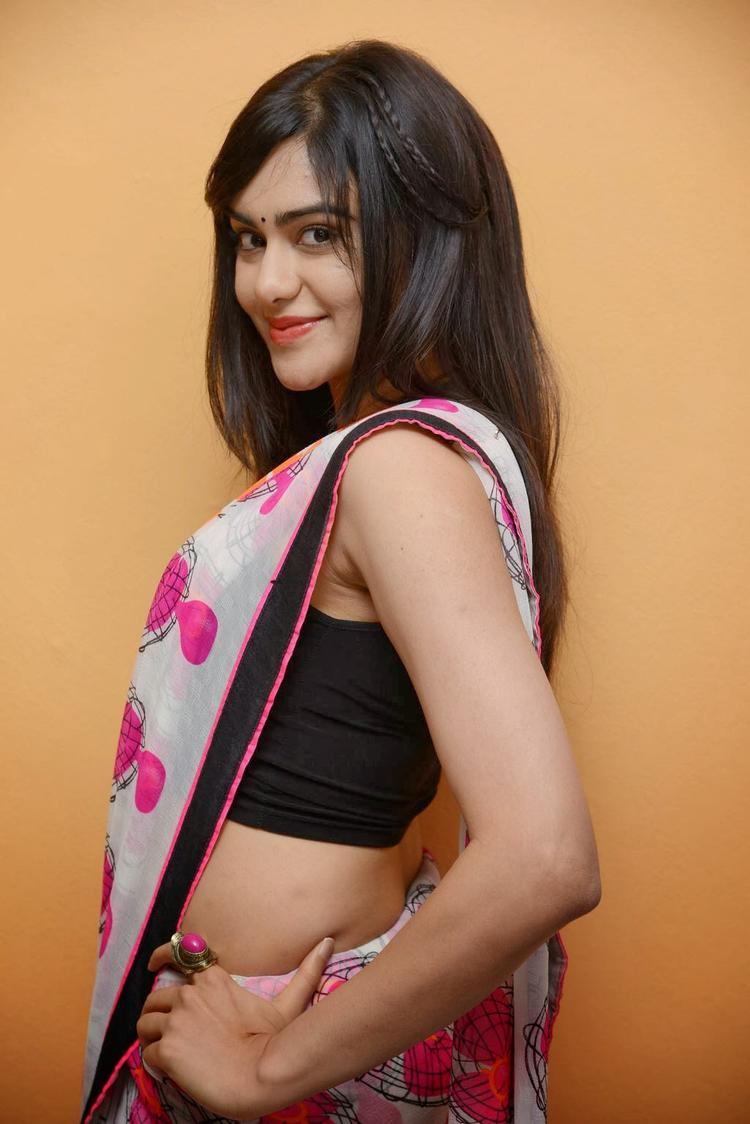 Adah Sharma Exclusive Hot And Cute Look At Heart Attack Audio Success Meet Event