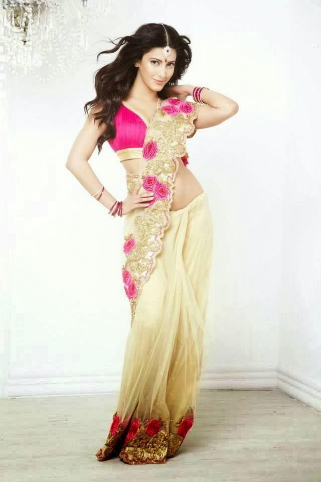 Shruti Haasan Gorgeous Look Photo Shoot For Kalanjali