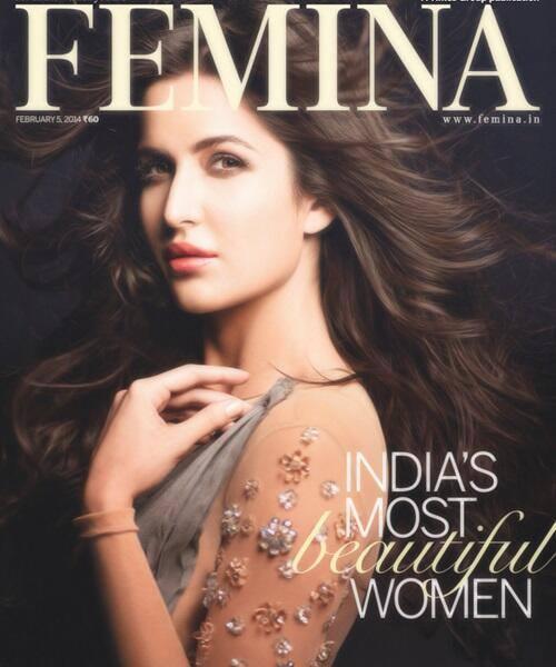 Pretty Katrina Kaif Looks Hot Dazzling On The Covers Of Femina