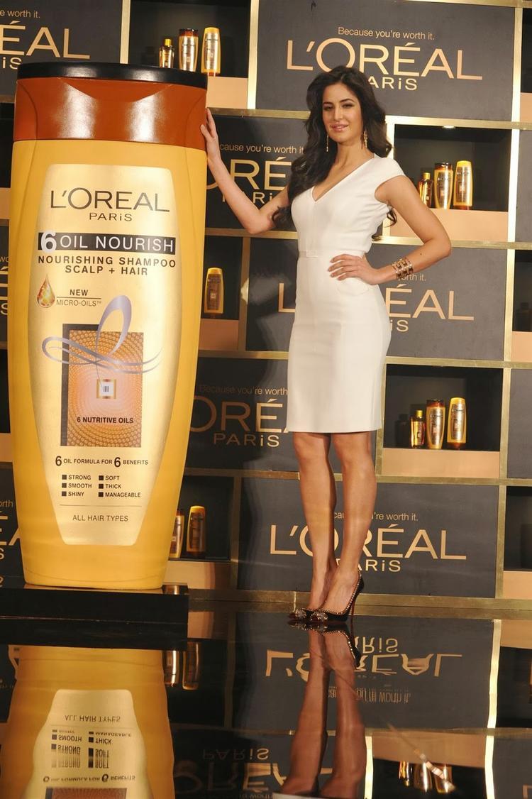 Pretty Katrina Kaif Is The New Global Brand Ambassador Of L'Oréal Paris
