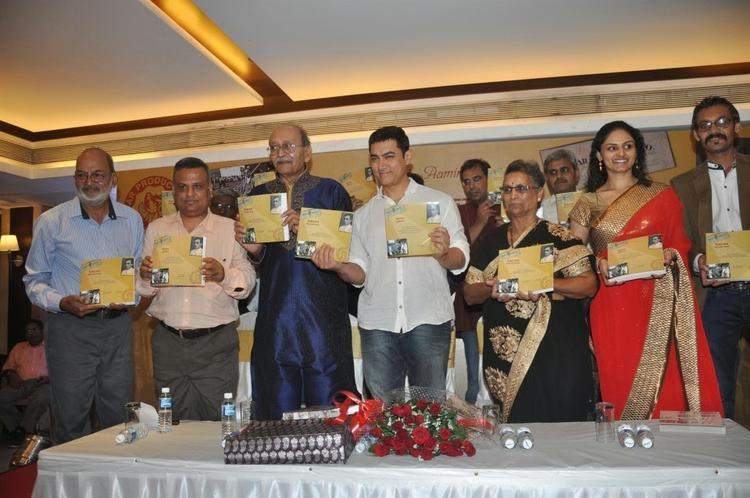 Aamir Khan And Others Launches Sagar Movietone Book In Mumbai