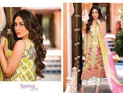 Kareena Kapoor Khan Smashing Hot Look For Faraz Manan's Crescent Lawn 2014 Collection