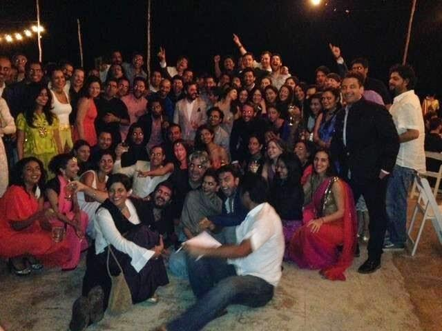 Ranveer And Deepika Attend A Wedding Party In Goa