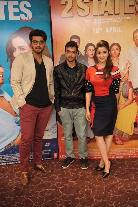 Arjun And Alia To Meet And Greet Fans In London For '2 States' Promotions