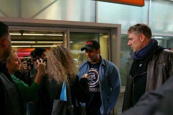 Salman Khan Talks With Poland Media At Chopin Airport