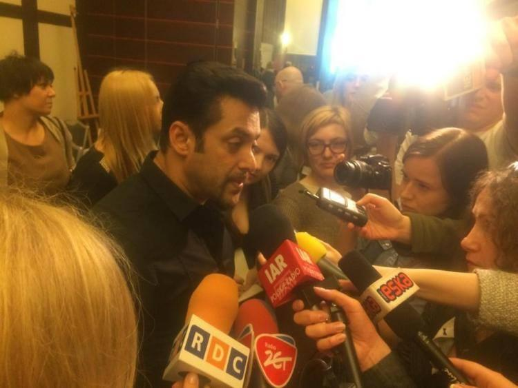 Salman Khan Interact With Media During The Press Conference Of Kick