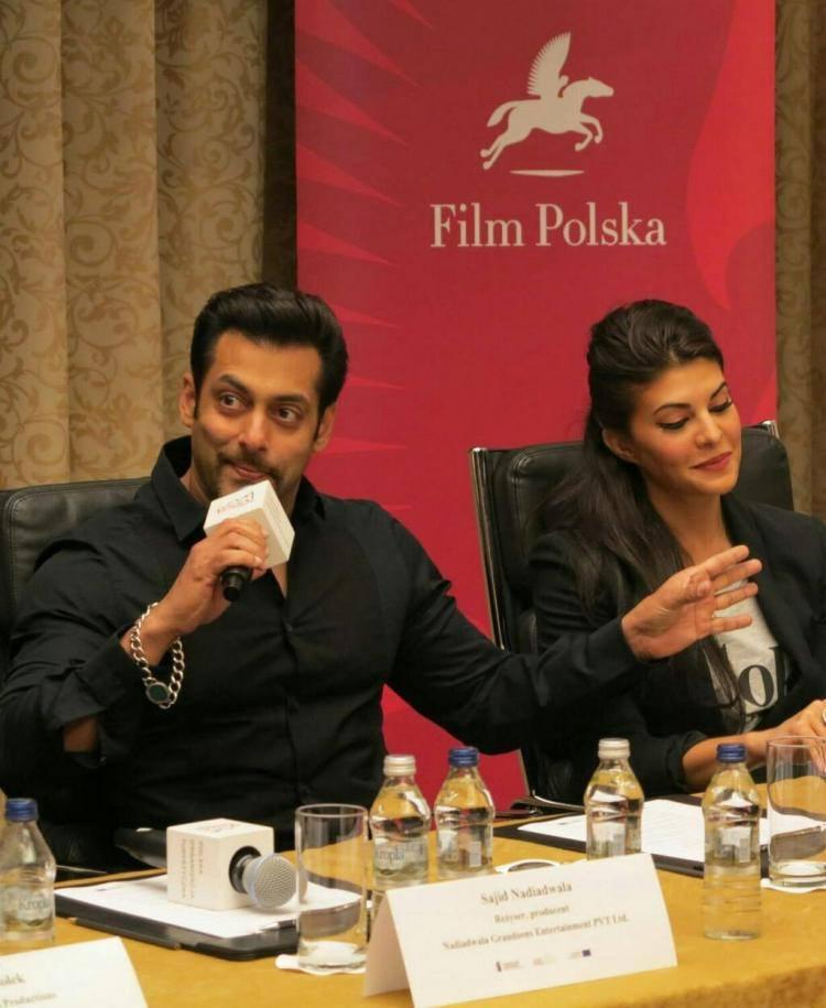 Salman Something Say To Media During Press Conference Of Kick