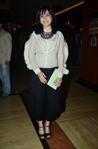 Director Tanushri Chattrji Bassu Spapped At Special Screening Of Purani Jeans