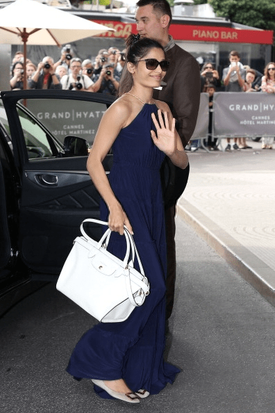 Glamour Freida Pinto At Hotel Martinez At 67th Annual Cannes Film Festival