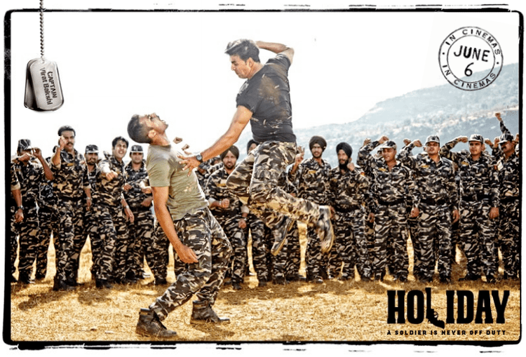 Akshay Action Still From Holiday Movie A Soldier Is Never Off Duty