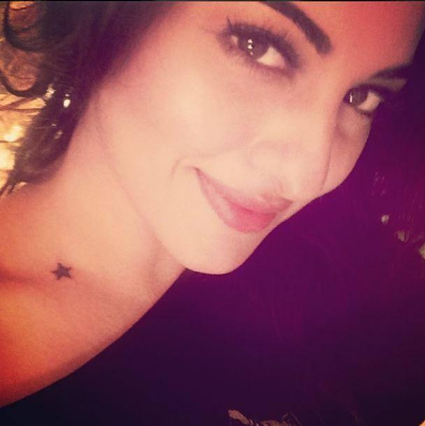 Sonakshi Gifted Herself A Tattoo In Her Birthday