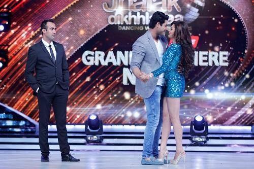 Drashti And Siddharth Romantic Dance On The Stage Of Jhalak Dikhhla Jaa 7 Grand Premiere