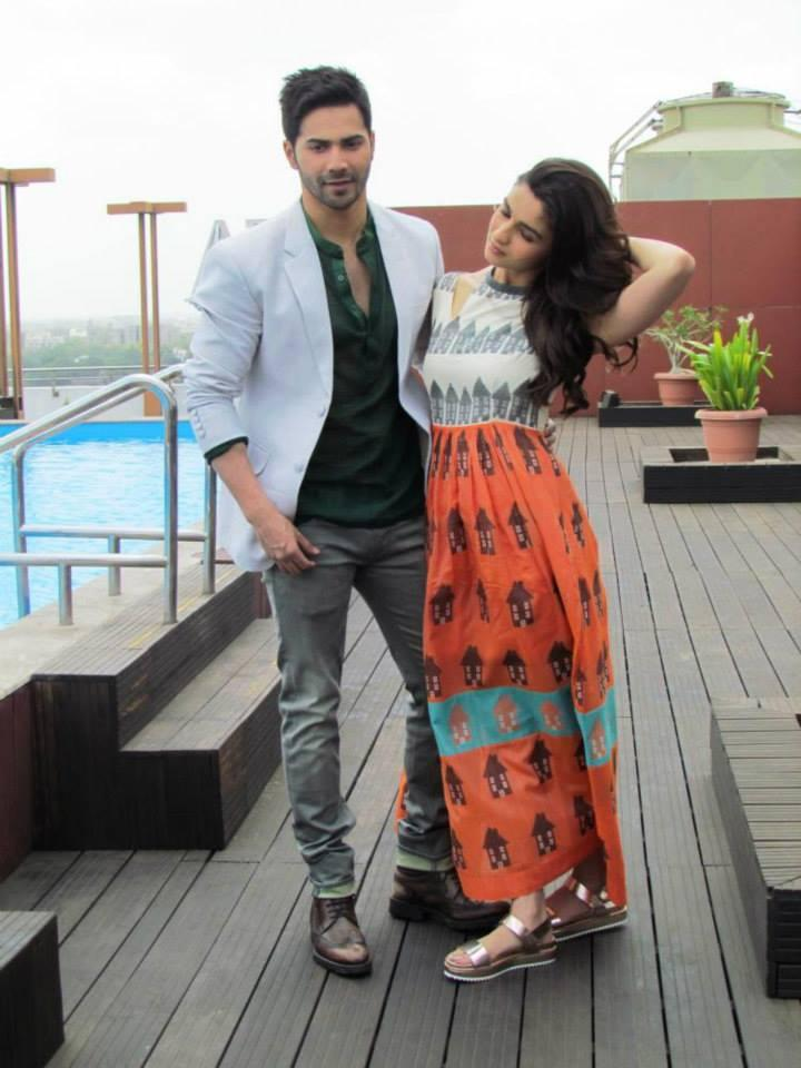Varun Dhawan And Alia Bhatt Headed To The City Of Ahmedabad To Promote Their Film HSKD