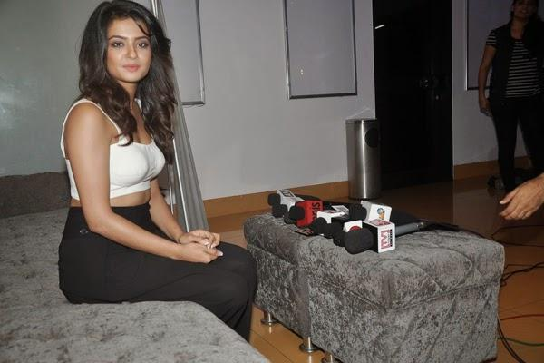 Surveen Chawla Photo Shoot During The Pressmeet Of Hate Story 2 Special Screening