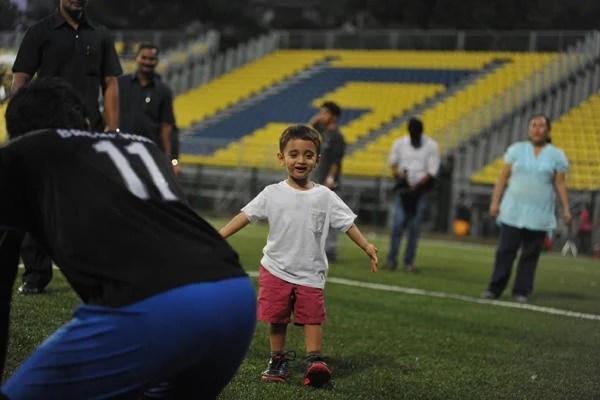 Aamir Khan Son Azad Rao Khan Cutest Look At Ira Khan Organised Charity Football Match 2014