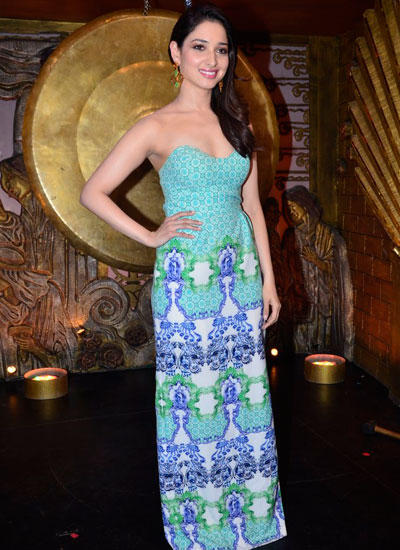 Beautiful Tamannaah Milky Look During The Promotion Of Entertainment Movie