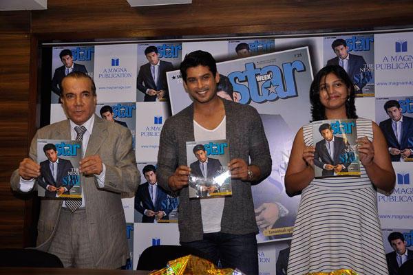 Nari Hira And Siddharth Shukla Unveil The Latest Issue Of Star Week Magazine