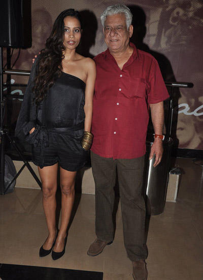 Om Puri Hosted A Premiere Bash Of Hollywood Movie Hundred Foot Journey