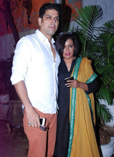 Murli Sharma With Wife Ashwini Kalsekar Attend Badlapur Wrapup Bash