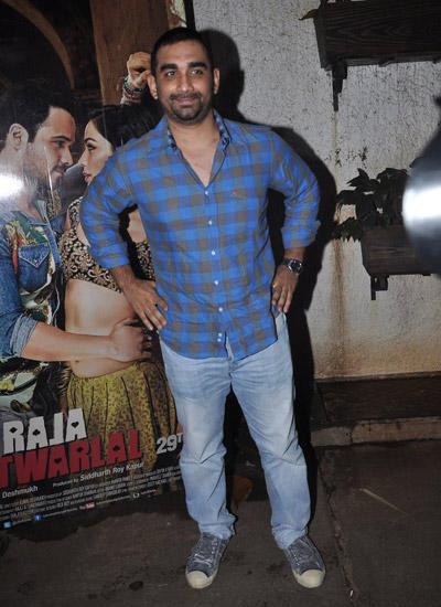Director Kunal Deshmukh Smiling Look At Raja Natwarlal Movie Special Screening In Mumbai