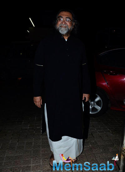 Prahlad Kakkar Snapped At The Finding Fanny Screening Hosted By Homi Adajania