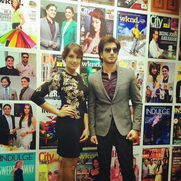 Imran And Bipasha Strikes A Stunning Pose In Dubai For Creature 3D Promotion