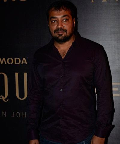 Anurag Kashyap Spotted To Support Karan's Fashion Collection Launch