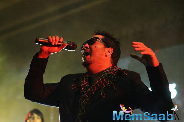 Mika Singh Performs During The 7th Anniversary Of Bindass Channel