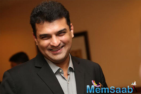 Siddharth Roy Kapur Smiling Look During The 7th Anniversary Of Bindass Channel