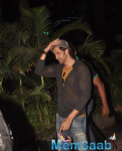 Hrithik Roshan Is Busy Promoting His Film Bang Bang