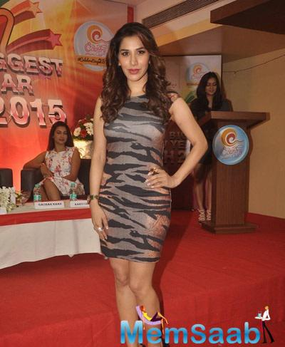 Sophie Choudry Attend The Country Club New Year Bash Press Meet