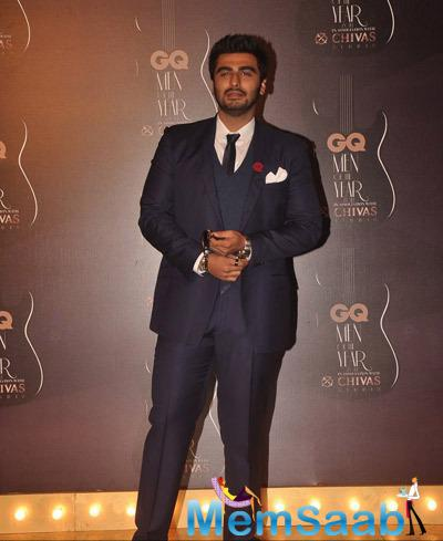 Arjun Kapoor Handsome Look At GQ Men Of The Year Awards 2014