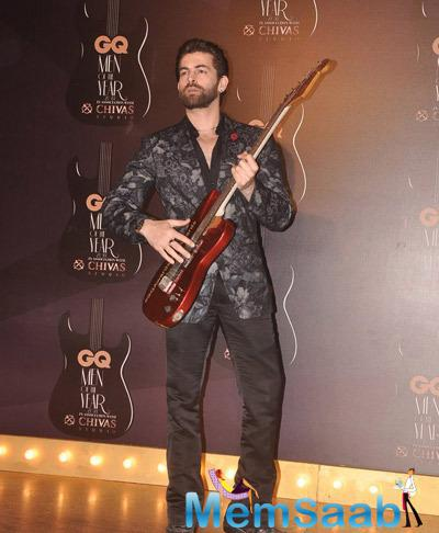Neil Nitin Mukesh Rocking Pose At GQ Men Of The Year Awards 2014