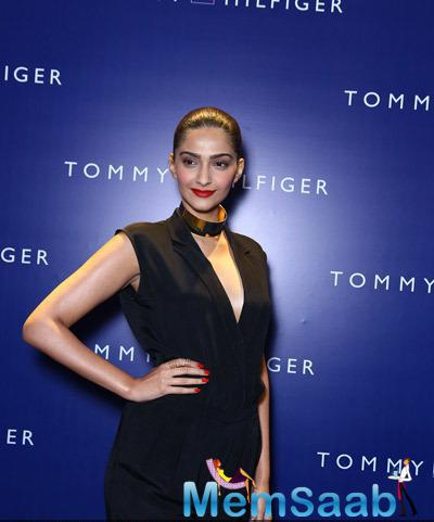 Sonam Kapoor Looked Stunning At The Tommy Hilfiger Select Citywalk Store