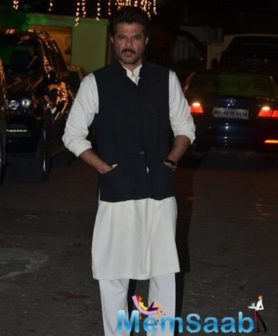 Anil Kapoor Attended The Shilpa Shetty And Raj Kundra's Diwali Celebrations
